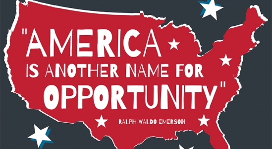 America Is Another Name for Opportunity [INFOGRAPHIC]   Simplifying The Market